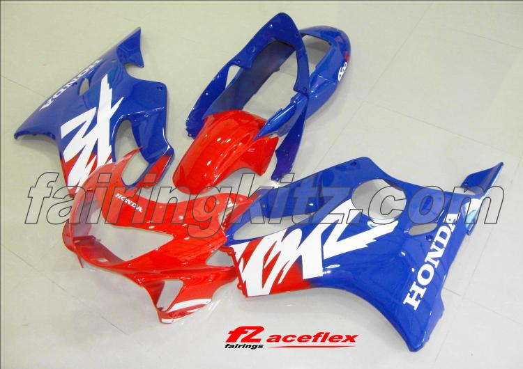 CBR600F4 1999-00 Red Blue & White
