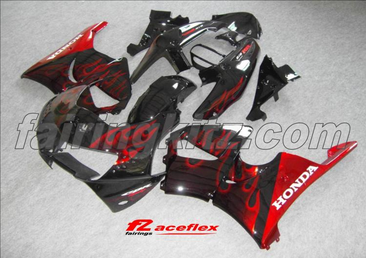 CBR900RR/919 1998-99 Black & Red flames