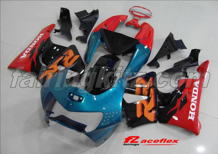 CBR900RR/919 1998-99 Blue Black & Orange