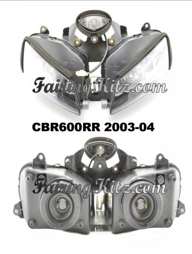 CBR600RR headlights 2003-04