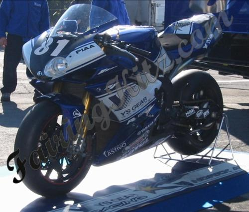 Team livery fairing kit option