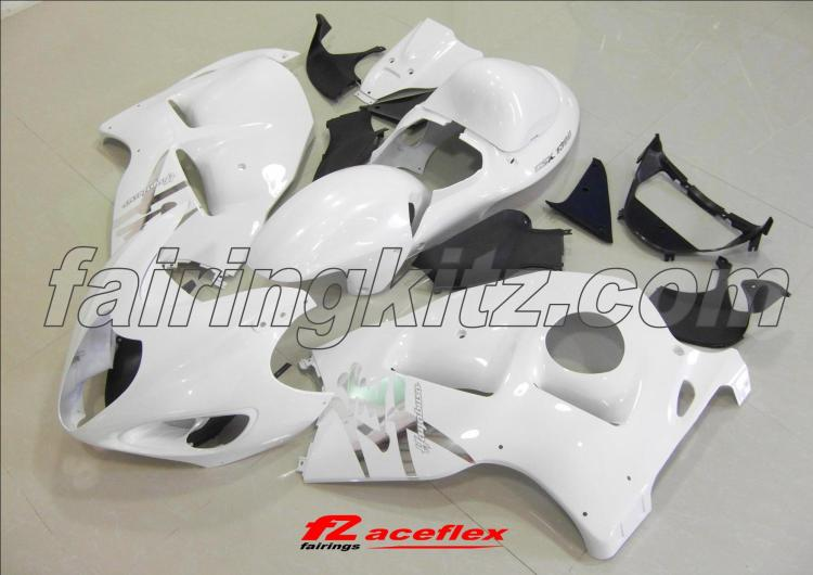 GSXR1300 1997-07 Pearl White & Silver - Click Image to Close