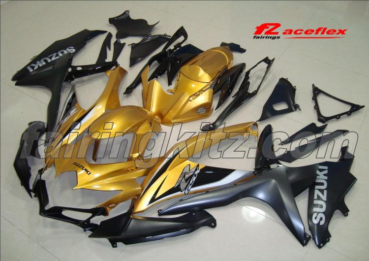 GSXR600 2008-10 Gold & Matt Black