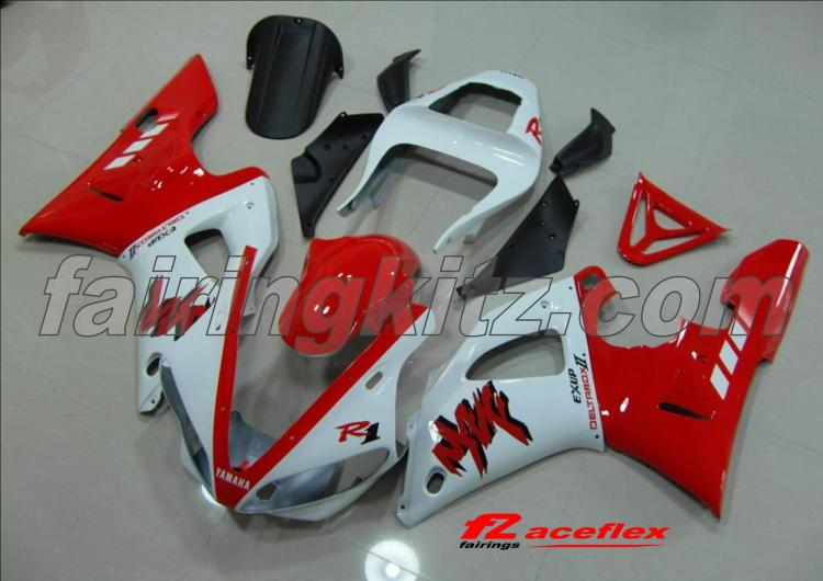 YZF R1 2000-01 Red & White