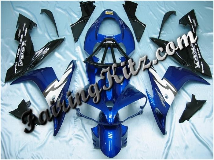 YZF R1 2004-06 Blue Black & White