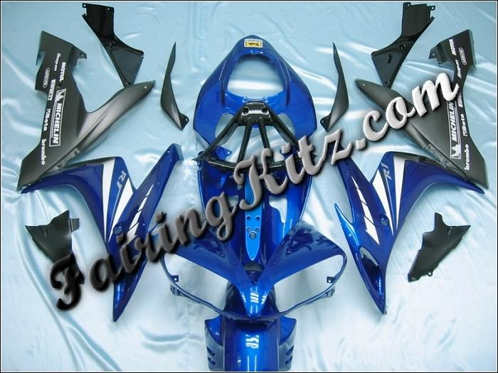 YZF R1 2004-06 Blue, Matt Black & White