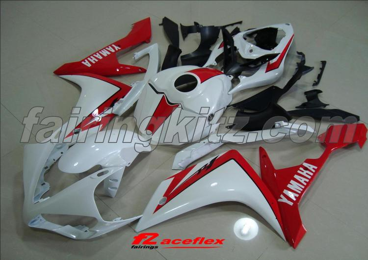 YZF R1 2007-08 Red & White