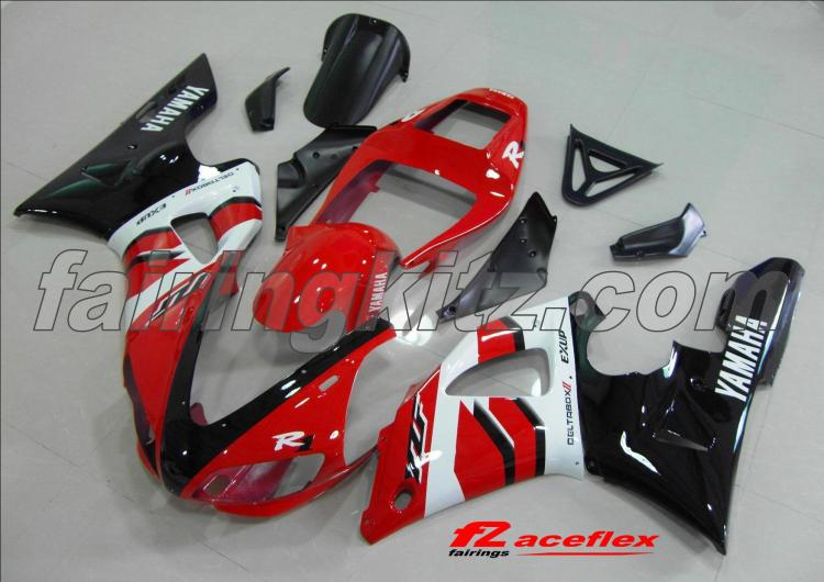 YZF R1 1998-99 Black Red & White