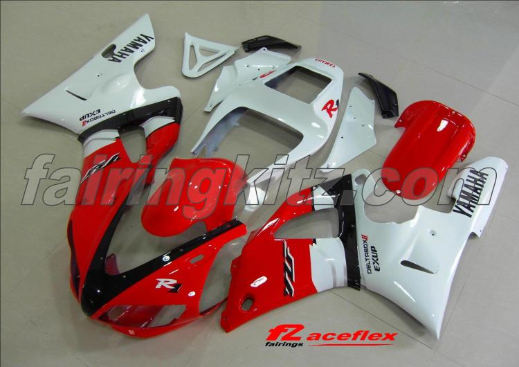 YZF R1 1998-99 Red White & Black