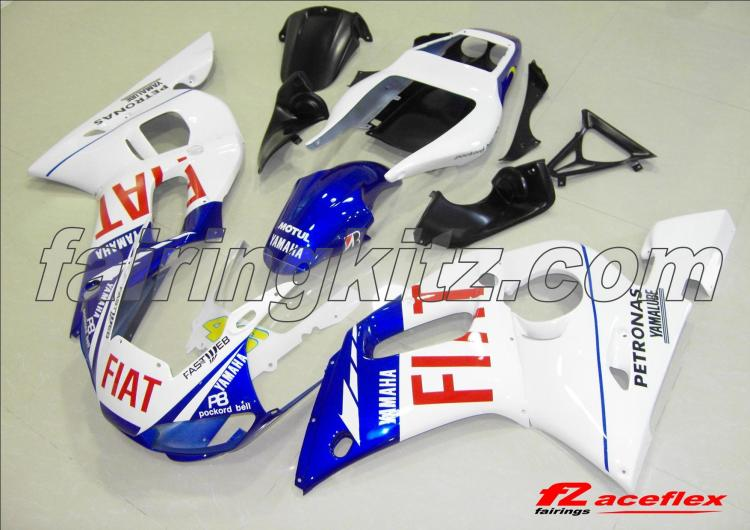 YZF R6 1999-02 New Rossi Fiat Yamaha