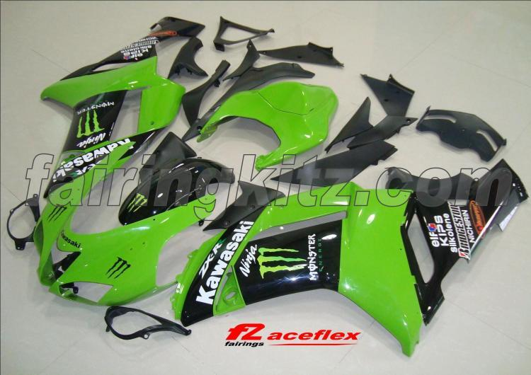 ZX6R 2007-08 Monster Green