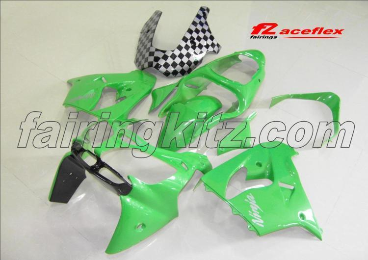 ZX9R 2000-01 Green Black & Chequers